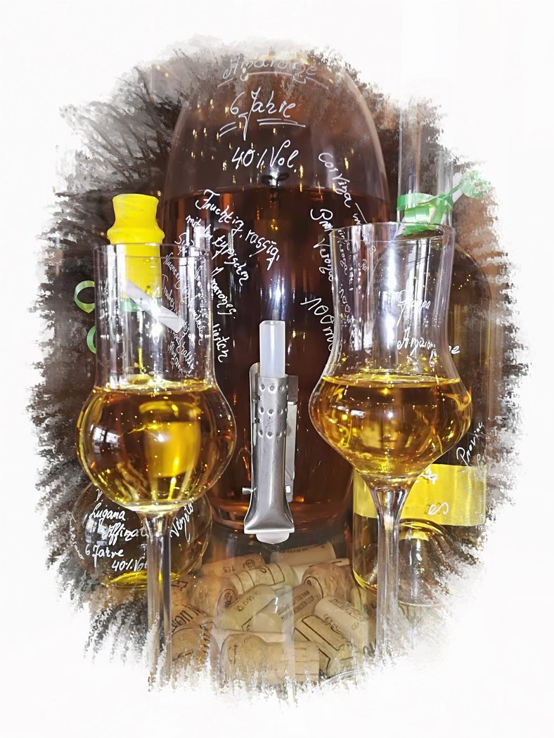 Grappa di Toscana, Vino Nobile, 40%Vol.